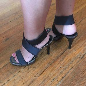 Donald J. Pliner Shoes - Donald J. Pliner Wrap-Strap High-Heeled Sandals